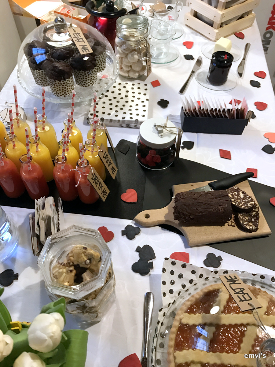 Alice Wonderland Party Private Chef Milano Catering Emvi18