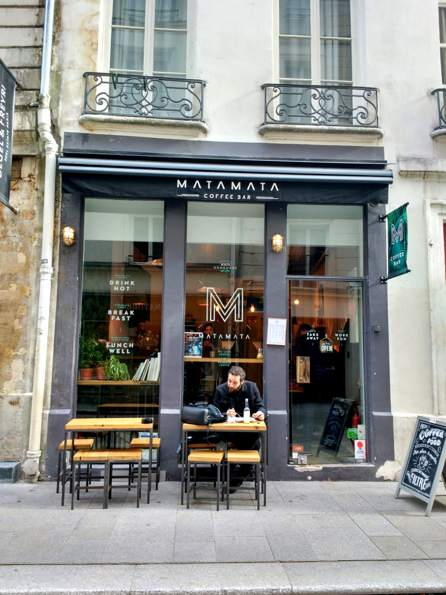 MataMata cofee bar, Paris
